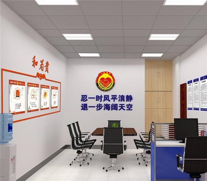 高新公安局郭家崖警务室室内设计